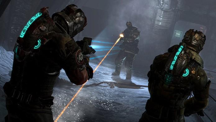 Dead Space 3 traz campanha cooperativa para dois jogadores (Foto: Divulgação/EA)