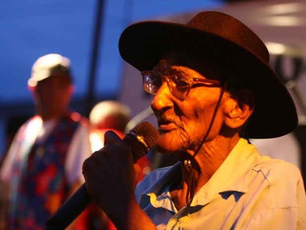 Mestre Verequete, um dos grandes nomes da cultura popular do Pará (Foto: Cristino Martins/O Liberal)