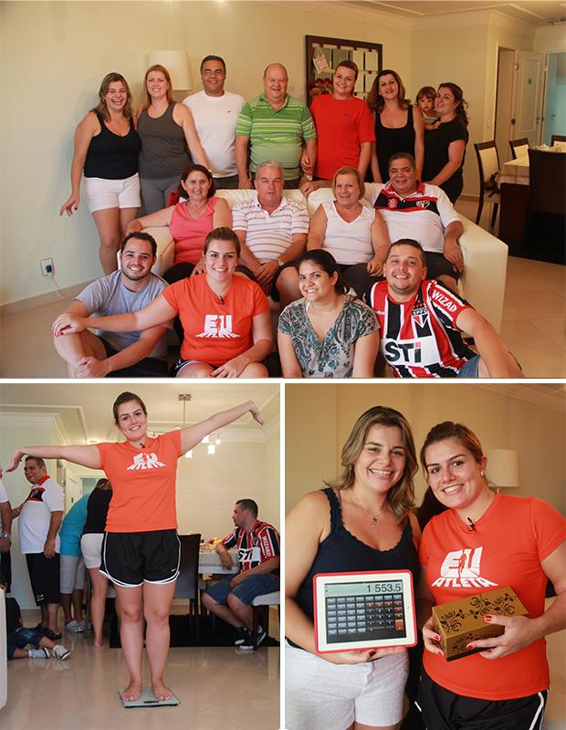 Família Araújo participará do Eu Atleta no Bem Estar (Foto: Patricia Palhares / EUATLETA.COM)