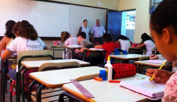 Paraná TV volta às aulas (Foto: Tarcísio Silveira / G1)