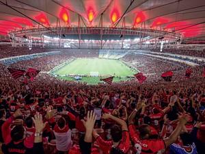 A MAIOR TORCIDA Flamengo obteve 15,9% dos votos em pesquisa nacional (Foto: Alexandre Loureiro/Getty Images)