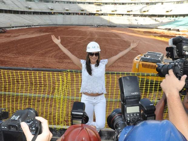 Ivete Sangalo (Foto: Eric Luis Carvalho/Globoesporte.com)