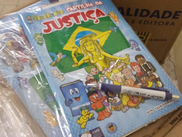 Revista da Justiça é lançada em petrolina, PE (Foto: Luana Benardes / TV Grande Rio)