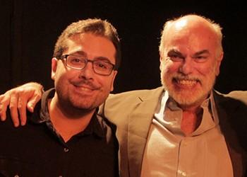 Diego Molina e Bosco Brasil (Foto: Ananda Campana)
