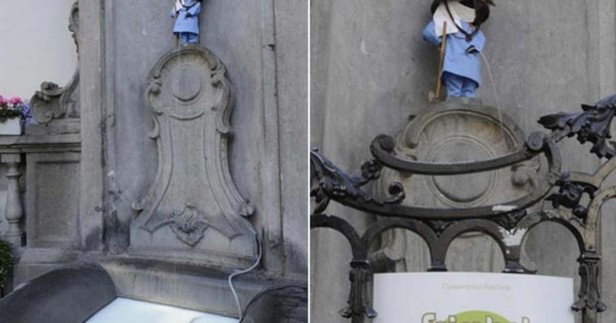 G1 - Estátua turística de Bruxelas faz xixi de leite - notícias em Planeta  Bizarro b2bae2f9a4e