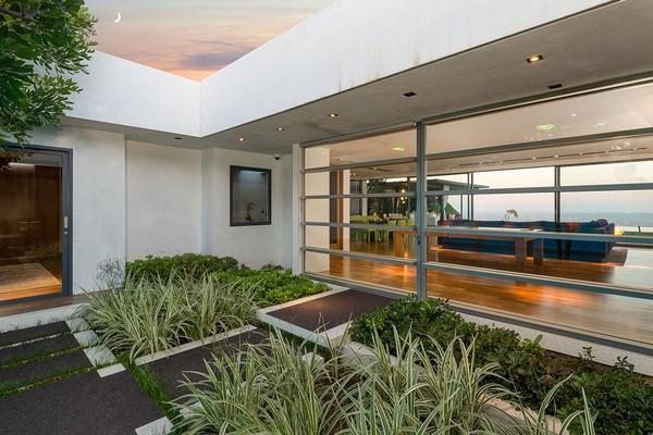 A casa colocada a venda pelo ator Matthew Perry (Foto: Divulgação)