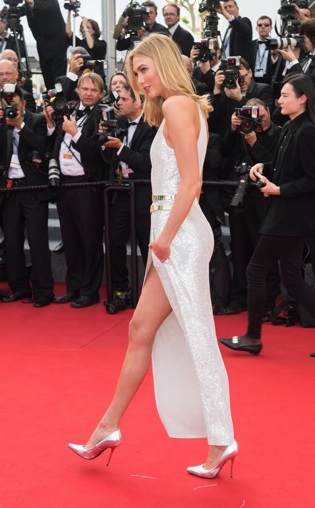 Karlie Kloss na cerimônia de abertura do Festival de Cannes 2015 (Foto: Getty Images)