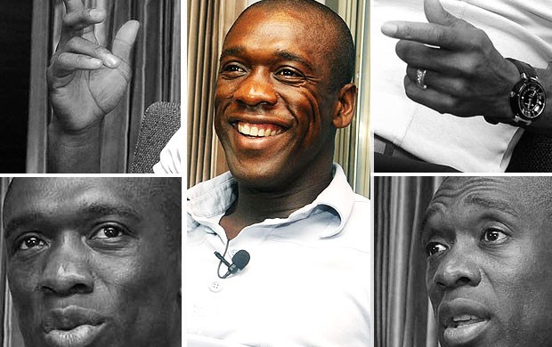 montagem Seedorf entrevista Botafogo (Foto: Andr&#233; Dur&#227;o / Globoesporte.com)