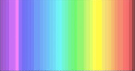 Quantas cores você consegue enxergar nessa imagem?
