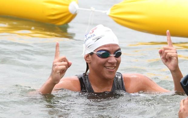 Ana Marcela venceu duas das quatro etapas já disputadas da Copa do Mundo (Foto: Ivan Storti / Divulgação)