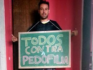 Todos Contra a Pedofilia concurso foto fotografia Divinópolis MG (Foto: Diego Campos/Arquivo pessoal)