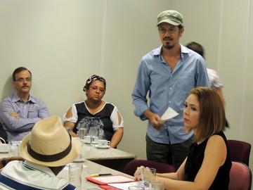Siba participa de audiência pública no MPPE, no Recife (Foto: Débora Soares / G1)