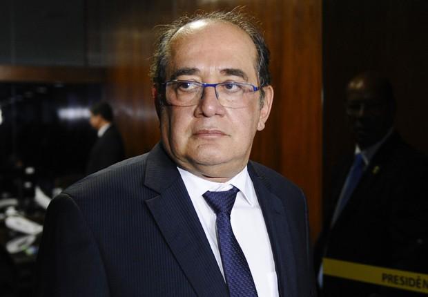 O ministro do Supremo Tribunal Federal (STF), Gilmar Mendes , em visita ao Senado (Foto: Marcos Oliveira/Agência Senado)