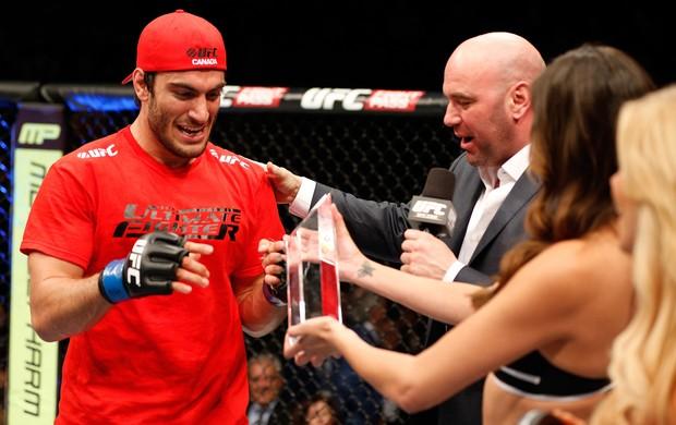 Elias Theodorou e Dana White UFC MMA (Foto: Getty Images)