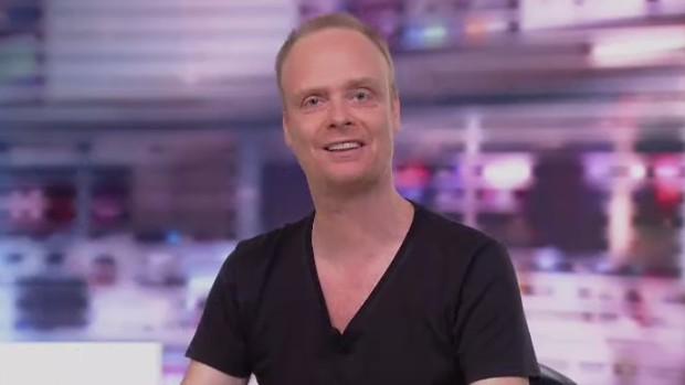Henrik Brandão Jönsson, jornalista sueco no Redação (Foto: Reprodução SporTV)
