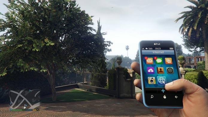 GTA V: confira os melhores sites para acessar no game (Foto: Reprodução/Murilo Molina)