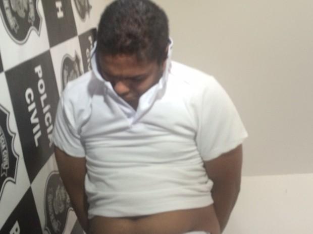Pastor Daniel Batista foi preso por um homicídio cometido em 2012, em Goiânia, Goiás (Foto: Murillo Velasco/G1)