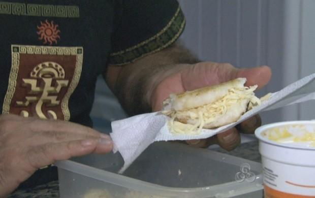 A receita é fácil e pode ser adaptada com ingredientes diversificados (Foto: Roraima TV)