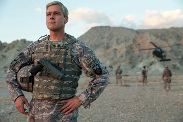 Brad Pitt em War Machine (Foto: Divulgação)