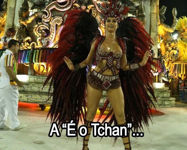 Todo carnaval tem seu fim (Foto: Ego)