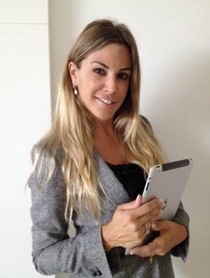 Joana Prado esposa de Vitor Belfort (Foto: Divulgação)