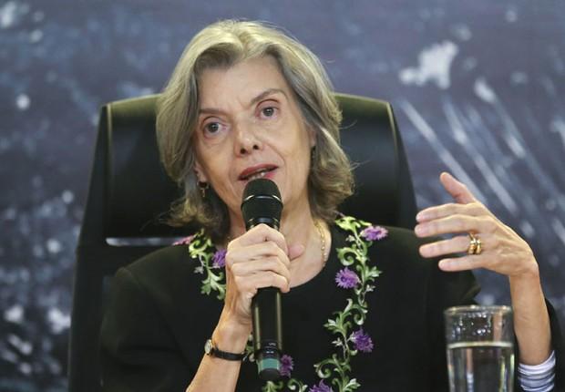 A presidente do STF, ministra Cármen Lúcia (Foto: Fabio Rodrigues Pozzebom/Agência Brasil)