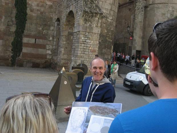 Jose, um dos guias do Hidden City em Barcelona (Foto: Hidden City Tours/Divulgação)