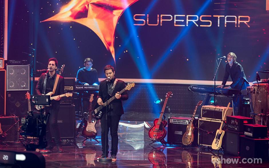 Jamz Top 10 palco (Foto: Camila Serejo/TV Globo)