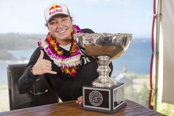 Carissa Moore tricampeã mundial surfe Maui (Foto: Divulgação/WSL)