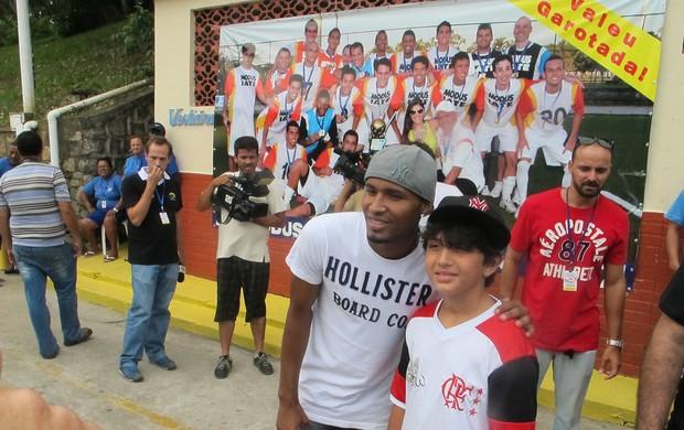 Wellington Silva Flamengo (Foto: Thales Soares / Globoesporte.com)