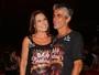 Laura Müller, do 'Altas Horas', posa com novo namorado no Carnaval