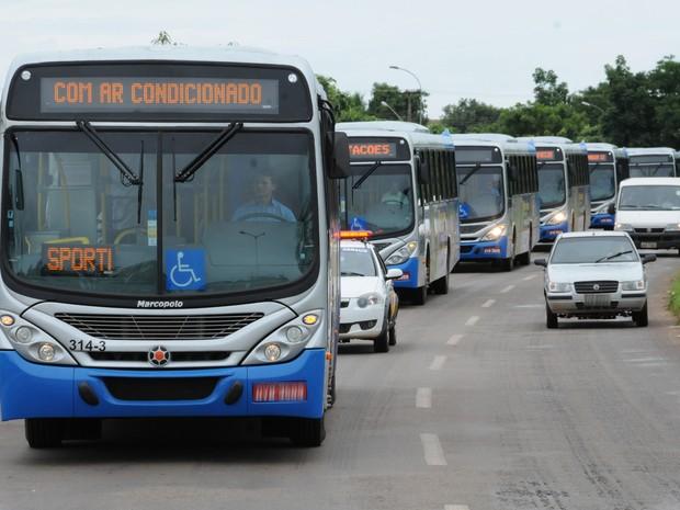 Ônibus terão horários especiais para a festa de Réveillon, em Palmas (Foto: Antônio Gonçalves/Arquivo Pessoal)