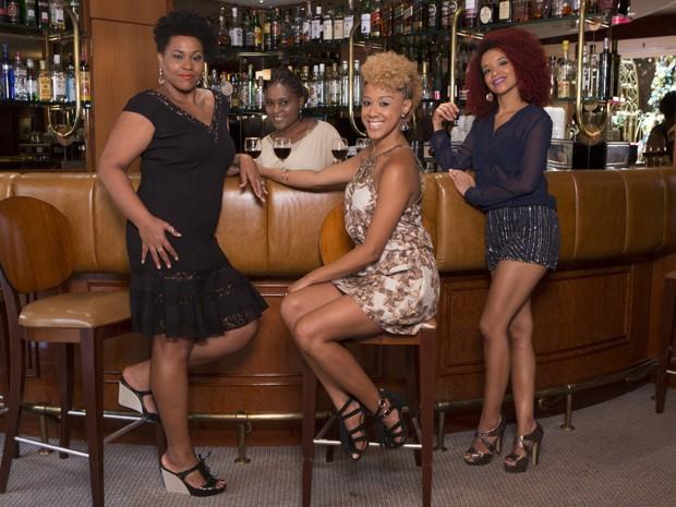 As quatro atrizes se conheceram em Sexo e as Negas (Foto: Felipe Monteiro/Gshow)