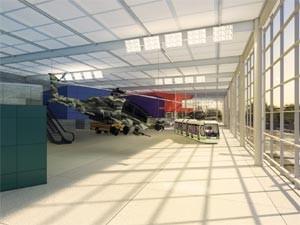 Projeto do Museu Nacional do Transporte em Campinas (Foto: FuMtran/ Divulgação)