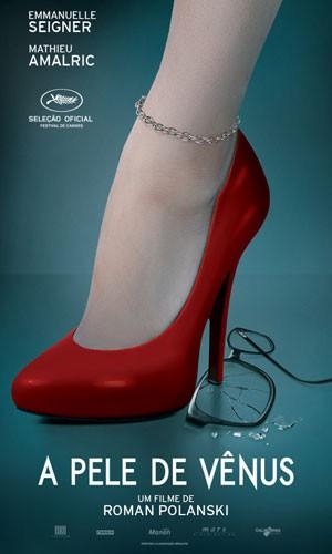 'A Pele de Vênus', cartaz de divulação do novo filme de Polanski