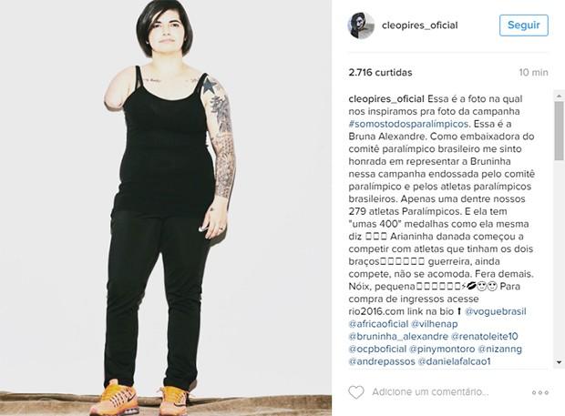Bruna Alexandre (Foto: Reprodução/Instagram)