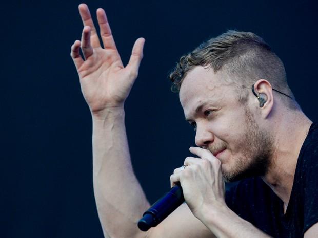 Imagine Dragons tocou neste sábado (5) no Lollapalooza. (Foto: Flavio Moraes/G1)