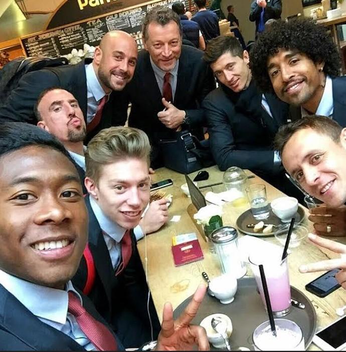 Bayern embarca para jogo na Ucrânia