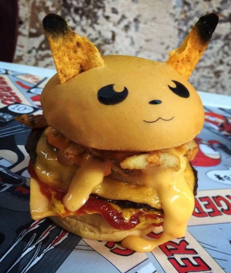 Pokémon inspira lanchonete a criar sanduíches (Foto: Reprodução)