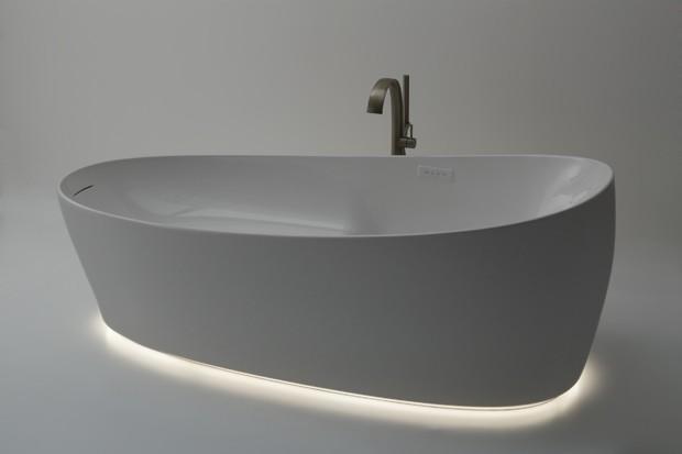 Com gravidade zero, esta banheira te faz relaxar totalmente (Foto: Divulgação)