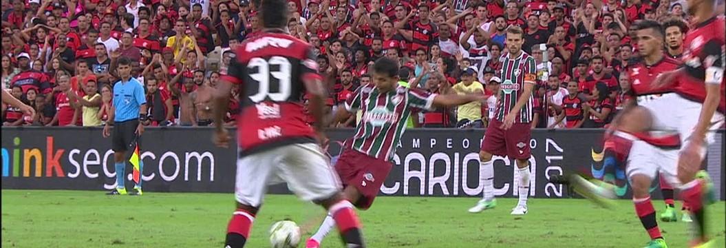 Flamengo x Fluminense - Campeonato Carioca 2017-2017 - globoesporte.com 7b8b5c7017d24