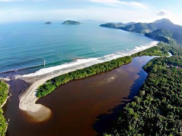 Praia da Puruba (Foto: Glauco Vieira/ Arquivo pessoal)