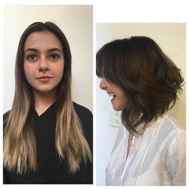 Klara Castanho muda visual (Foto: Reprodução / Instagram)