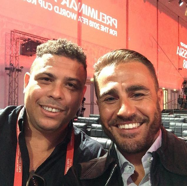 Ronaldo e Cannavaro