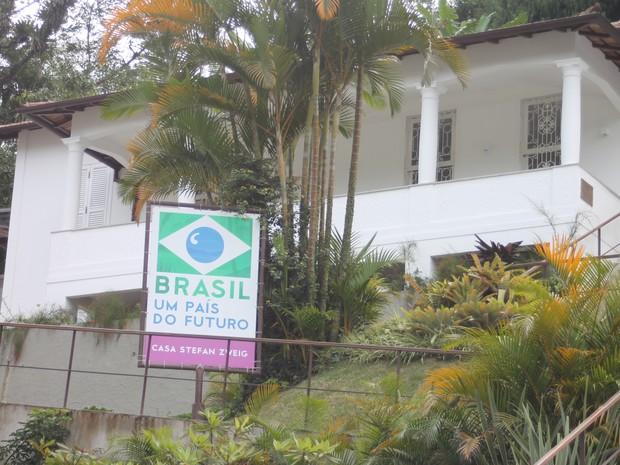 casa stefan zweig 19 (Foto: Felipe Carvalho/G1)