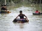 Inundações deixam dezenas de mortos em Mianmar