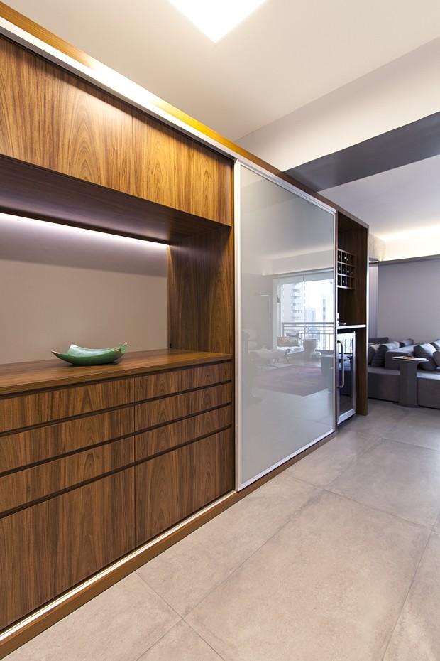 Espaços conectados para um morar contemporâneo (Foto: Marcus Damon/Estúdio Paralelo F)