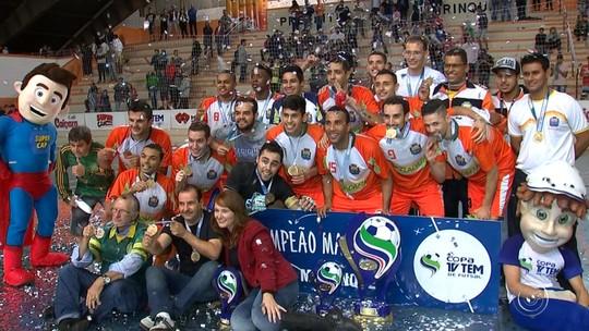 Mairinque vence Jundiaí e conquista título inédito da Copa TV TEM