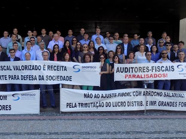 Aduanas e serviços de tributos internos da Receita Federal paralisam no Ceará (Foto: Reprodução/Sindifisco)