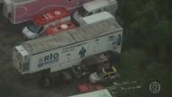 Caminhões de Diagnóstico que percorriam o estado pra realizar exames, estão parados